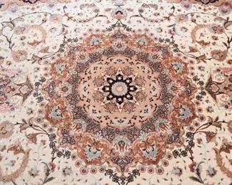 """Persian Tabriz Carpet (approx. 11'8"""" x 8'3"""")"""