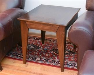 Matching Contemporary End Table