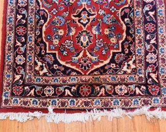"""Persian Kashan Carpet / Rug Runner (approx. 9'10"""" x 2'7"""")"""