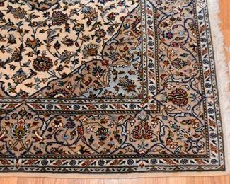 "Persian Kashan Carpet  (approx. 7'9"" x 4'7"")"