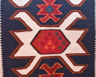 """Mexican Woven Area Rug (approx. 5'11"""" x 3'6"""")"""