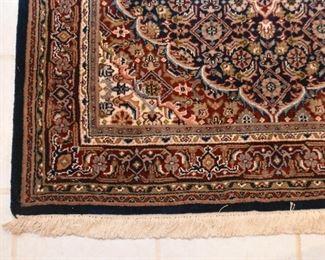 "Persian Tabriz Carpet / Rug (approx. 5'9"" x 3'10"")"
