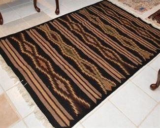 "Middle Eastern Kilim  Rug (approx. 5'10"" x 4'1"")"