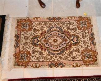 "Persian Tabriz Carpet / Rug (approx. 2'1"" x  3'2"")"