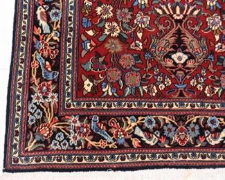 "Persian Kashan Prayer Rug - Tree of Life (approx. 5'6"" x 3'8"")"
