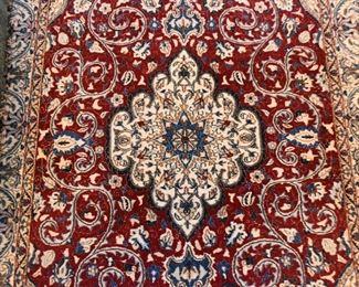 "Persian Tabas Carpet / Rug (approx. 6'7"" x 3'10"")"