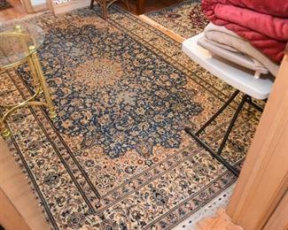 """Persian Nain Carpet / Rug (approx. 9'2"""" x 5'9"""")"""