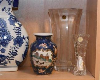 Vases (Porcelain, Glass & Crystal)