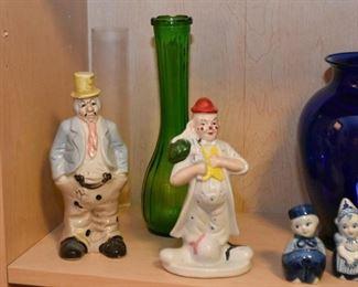 Vintage Clown Figurines