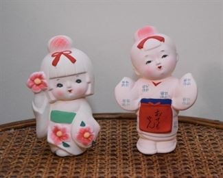 Japanese Porcelain Figurines