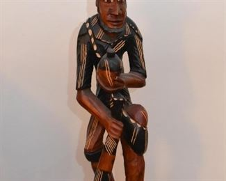Folk Art Wood Carving / Statue