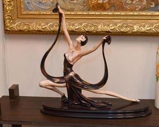 Italian Porcelain Figurine (by Santini)