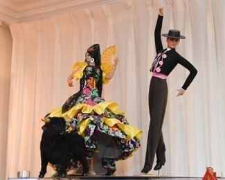 Spanish Dancer Dolls