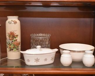 Asian Vase, Serving Pieces, Salt & Pepper