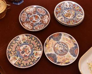 Japanese Imari Plates (Small)