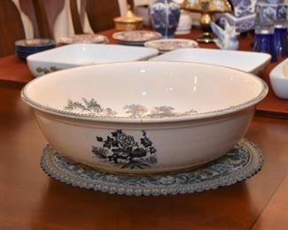 Vintage Transferware Bowl (Large)