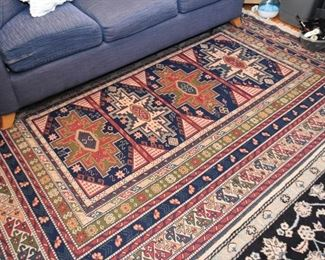 "Persian Soumak Carpet / Rug (approx. 8'8"" x 6'1"")"