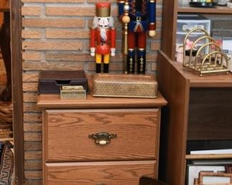 Nightstand / End Table with Drawers