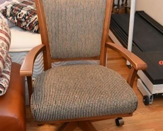 Wooden Swivel Office Chair (there are 2 of these)
