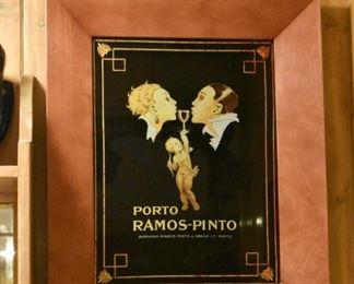 Wine Bar Decor / Wall Hanging, Porto Ramos-Pinto