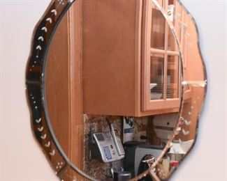 Etched Wall Mirror