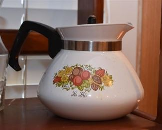 Corning Ware Teapot (Spice of Life)