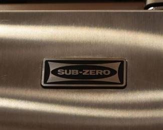 Sub-Zero Refrigerator Freezer