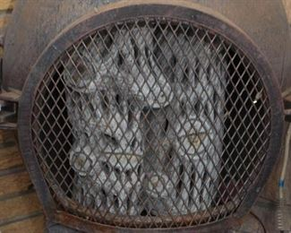 Chiminea with Electric Heater Inside