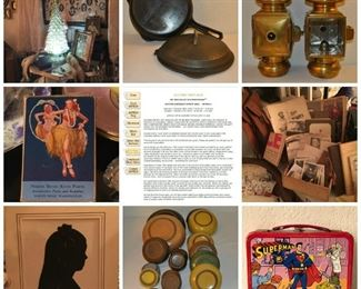 SISTERS ANTIQUES -- just a few of the AMAZING finds!