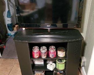 "RCA 31""  Flat Screen TV, TV Stand"