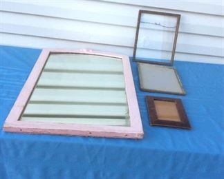 Antique Mirror and Frames