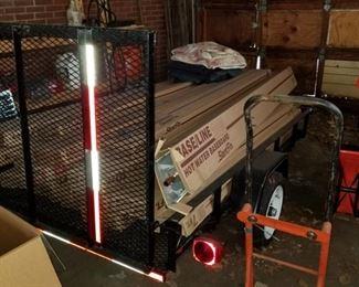 6 x 10 utility trailer (like new)