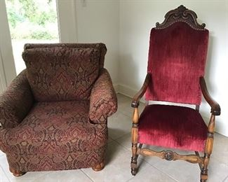 Two beautiful chairs, excellent condition.
