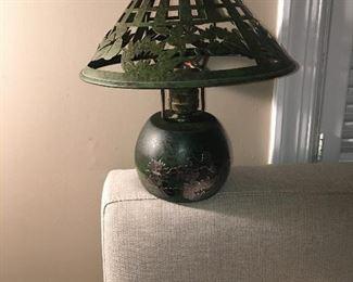 Heinzt Art Nouveau boudoir lamp (c.1912)