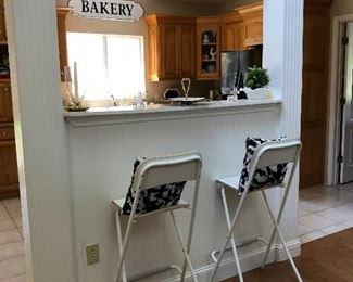 Maple Bar stools
