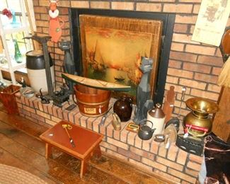Lots of antique collectables