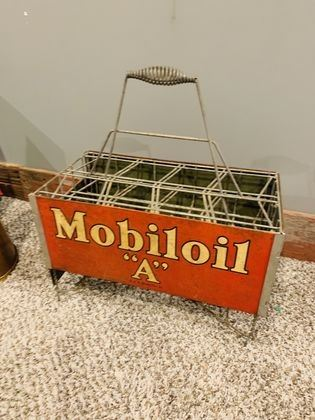 """Mobil """"A"""" Gas crate"""