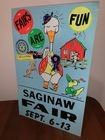 vintage saginaw fair advertising