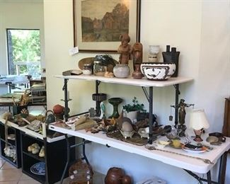 Wood Carvings, Brass Items, Clay and Pottery Items