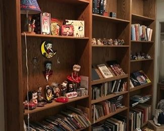Betty Boop Collection.  Cook Books, Children's Books, Informational Books. Clair's Bear Collection.