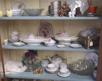 Nippon, China, ironstone, porcelain, etc.