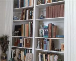 Antique books and magazines