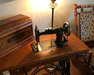 """The Eldredge """"B"""" sewing machine...excellent condition!"""