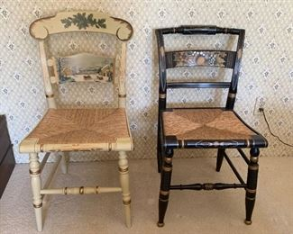 Authentic Hitchcock stenciled chairs