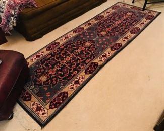 Wool Persian rug runner
