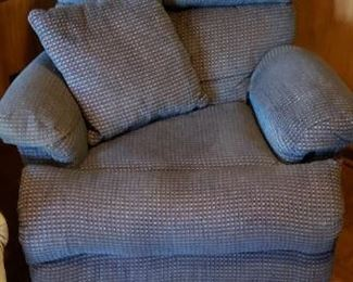 Pair of matching recliners