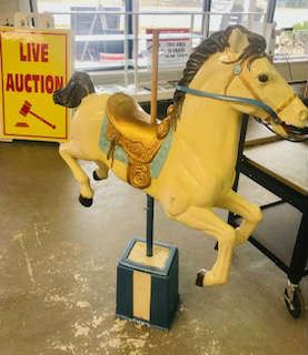 Vintage (replica) Carousel Horse