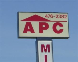 For More Information Call: APC Mini Storage at 901-476-2382