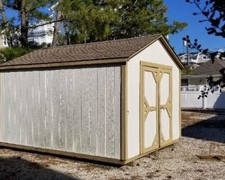 Shed is approx 10'x 12'; in great shape!