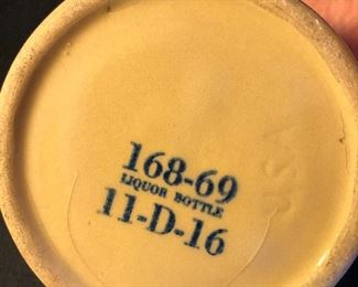 "Vintage  McCormick Platte Valley Straight Corn Whiskey Stoneware 5"" Jug"